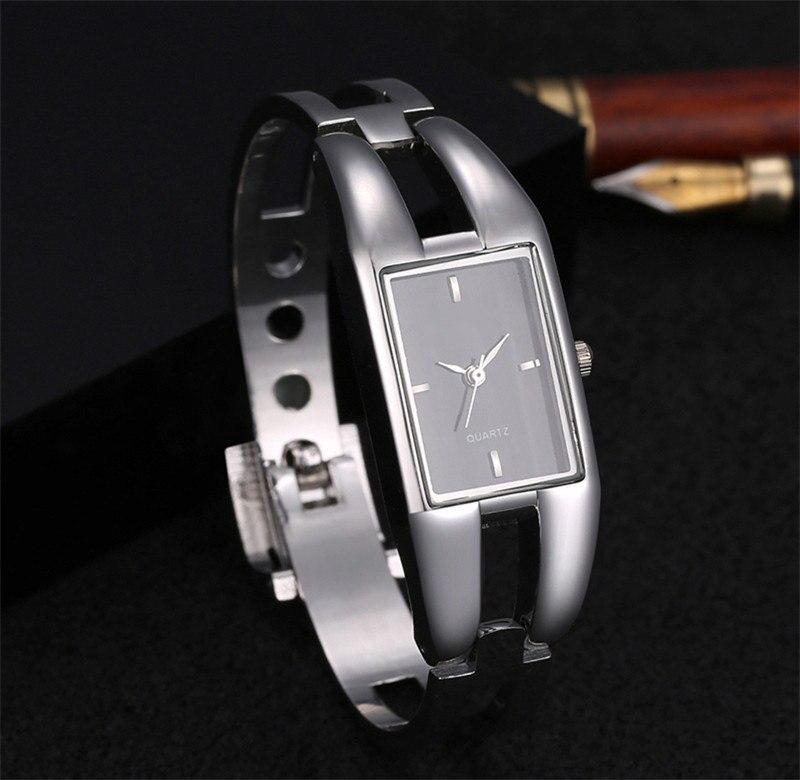 2019 Luxury Women Watch Bracelet Quartz Watches Hollow Slim Band Womens Bangle Watches relogio feminino Beauty Designer Clock