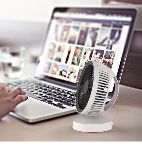 Free Shipping Onezili Desk Fan Cute Portable Flexible Desktop Office Househeld