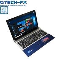 I7 игровой ноутбук 15,6 ГБ 8 Гб оперативная память 64 ГБ SSD + ГБ 750 HDD DVD быстро процессор металла ноутбук бизнес арабский AZERTY клавиатура с испански