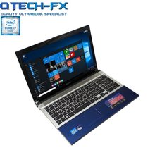"I7 Gaming Notebook 15.6 ""Ram 8GB SSD 256 GB/128/64 + 750GB HDD DVD CPU Cepat Logam Arab Bisnis Azerty Bahasa Spanyol Keyboard Rusia(China)"