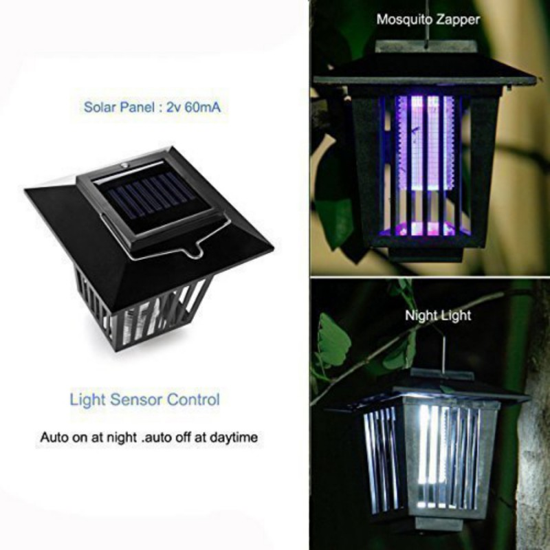 Reject Shop Outdoor Solar Lights: LED Solar Mosquitoes Fly Pests Reject Control Energy Pest