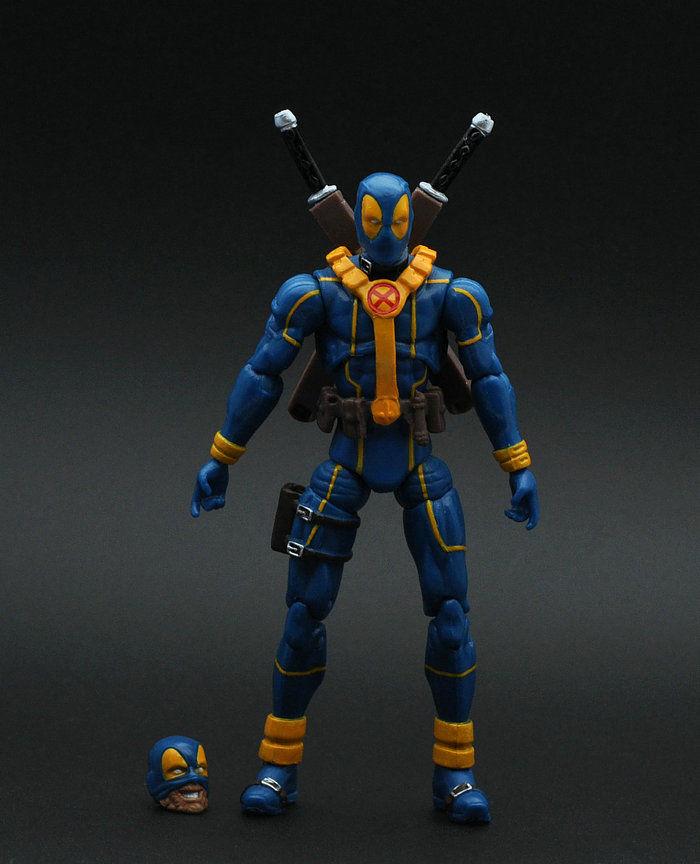 X MEN  Hero Deadpool 3.75'' Action Figure Loose Toy ZX308D