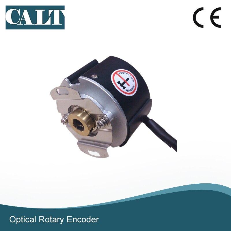 Servo Motor Rotary Encoder GSM48 2500 Lines 8mm Hollow Shaft UVW Encoder Similar to JP Tamagawa Encoder