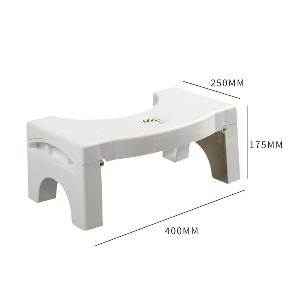 Image 5 - Toilet Foot Stool Bathroom Anti Constipation For Kids Foldable Plastic Footstool Squatting Stool Toilet  (no air freshener)-in Bathroom Chairs & Stools from Furniture