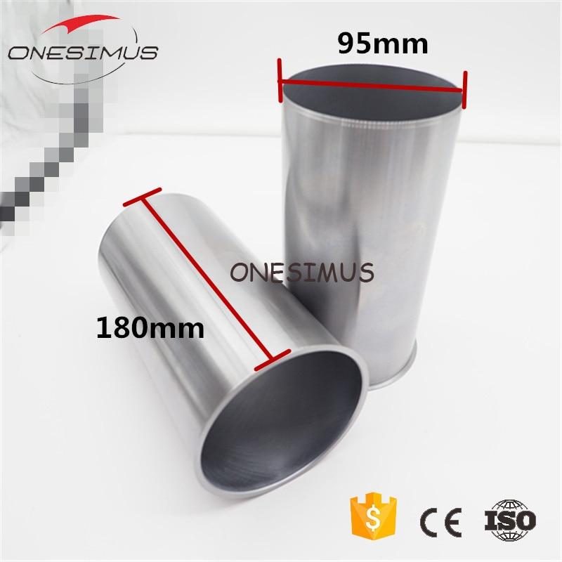 Manchon de cylindre de moteur de 92*95*180mm 4 pièces STD (carter) pour isuzu 4JB1