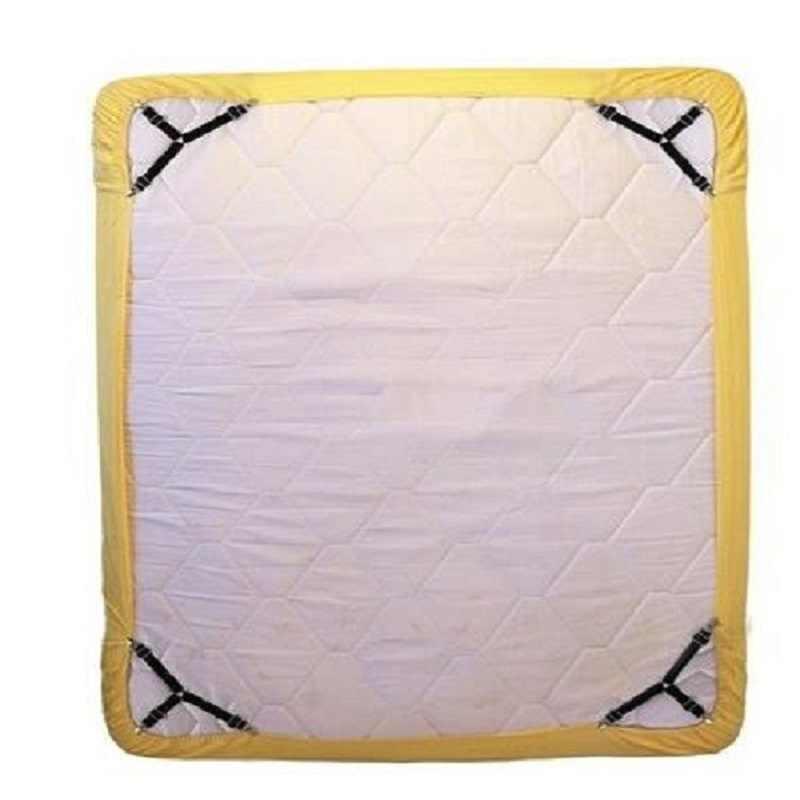 Слинг эластичный ремешок крепежные зажимы для матраца держатель ткани слинг крепежный зажим металлический зажим ткань мебельная застежка матрас металл