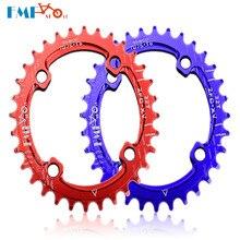 FMFXTR MTB cykel kædehjul 96BCD bred smal oval kædehjul kædehjul 32T / 34T / 36T / 38T mountain cykeldele