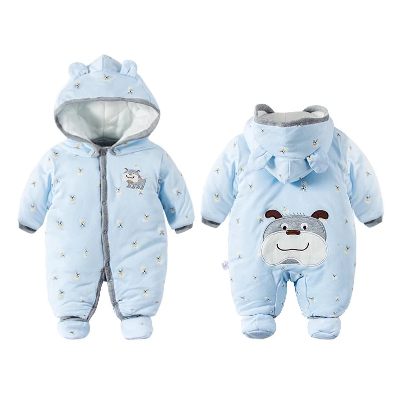 Cute Baby Boy Girl Winter Rompers Hooded Dog Romper Boys  Warm Clothes Costome Kids Jumpsuit Baby clothes set Cute Baby Boy Girl Winter Rompers Hooded Dog Romper Boys  Warm Clothes Costome Kids Jumpsuit Baby clothes set