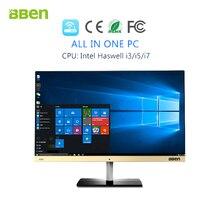 Bben All in One Desktop 3.3GHz FHD1920X1080 8GB DDR3, 128GB SSD ROM+500GB HDD Windows10 WiFi bluetooth computer