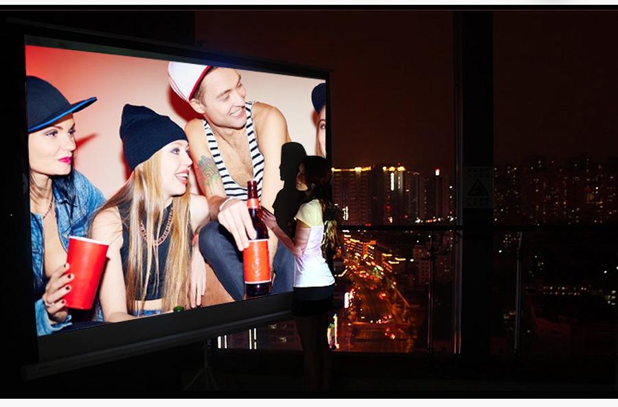 AODIAN AODIN 3D HD Mini projector DLP support 1080P video 8G pico pocket projector for home theater HDMI smart led portable projectors-10