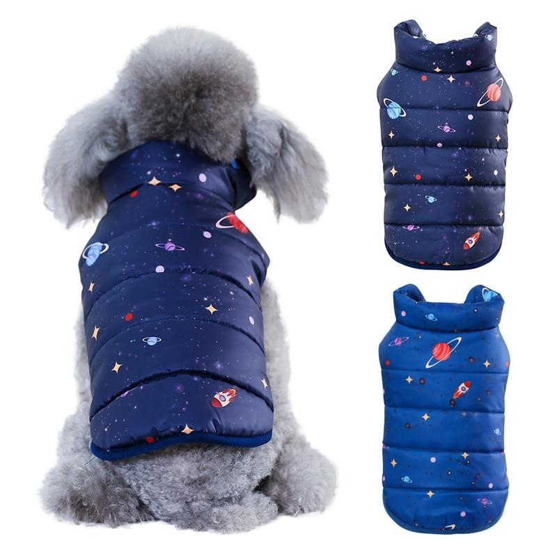 Hond Jas Winter Warm Kleine Hond Parka Kleding Puppy Jas Kleding Winddicht Winter Hond Jas Gewatteerde Kleding Puppy Outfit Uitgebreide Selectie;