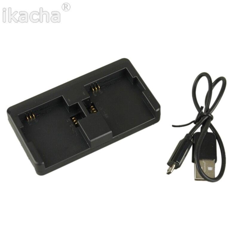 Двойной Порты и разъёмы USB Батарея Зарядное устройство для GoPro Hero 4 <font><b>3</b></font> + для <font><b>Go</b></font> <font><b>Pro</b></font> Hero 4 цвета черный/серебристый Зарядные устройства для камеры Кам&#8230;