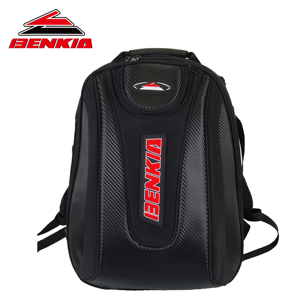BENKIA Motorcycle Bag Waterproof Backpack Moto Helmet Backpack Luggage Moto Tank Bag Motorcycle Racing Backpack HDF-BP01 motorcycle expandable magnet and mechanical ring fix tank bag racing backpack for benelli bn600 tre 899 k