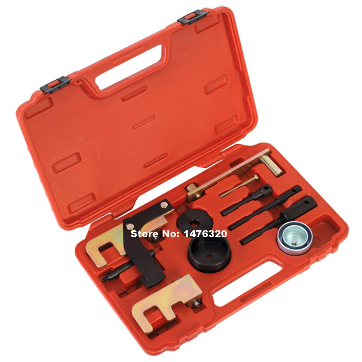 Automotive Diesel Engine Timing Locking Setting Tool Set For Renault Nissan DCi & Vauxhall Opel 1.5 1.9 2.2 2.5 AT2066