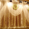 Lighting String 3M x 3M 300 LED Fairy String Light Curtain Christmas Xmas Wedding Christmas Light l7106