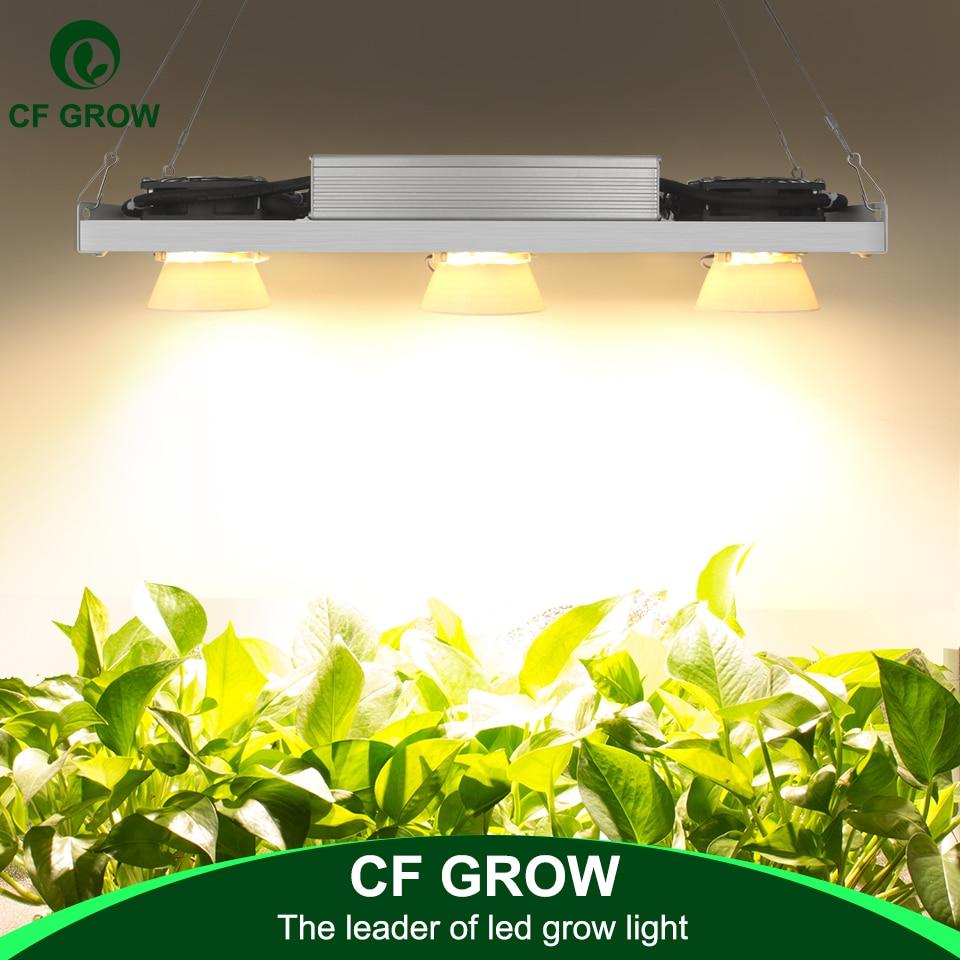 Dimmable CREE CXB3590 300 W COB LED grandir lumière spectre complet Vero29 citoyen LED lampe croissante intérieur plante croissance éclairage