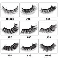 50 pairs private label wholesale natural false eyelashes 3d fake eye lashes makeup 3d mink lashes false mink eyelashes customize