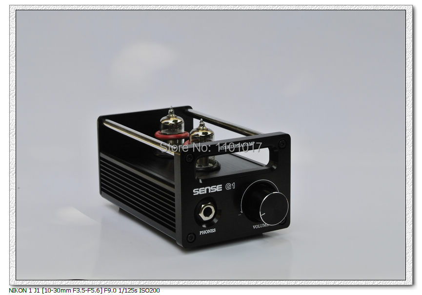 SENSE G1 tube & VMOS Hybrid Headphone amplifier HIFI Exquis earphone amps appj pa1502a tube headphone amplifier