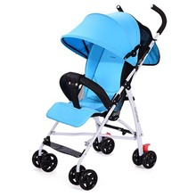 Quality baby car umbrella light folding baby stroller cart shock absorbers quality key car