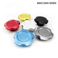 MOMO PAI Aluminum Alloy Oil Cover Fit For Subaru XV Forest People Legacy Outback Impreza Forester