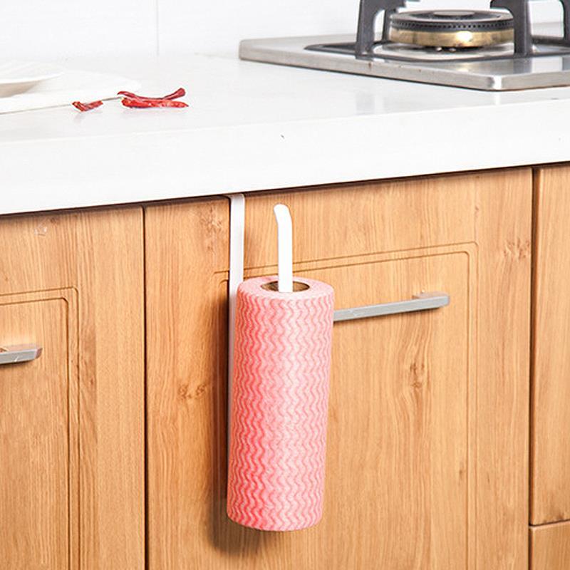 Bathroom Hardware Responsible Hot 2pcs Paper Towel Holder Dispenser Under Cabinet Paper Roll Holder Rack Without Drilling For Kitchen Bathroom Retail