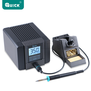Image 2 - QUICK TS1200A Best Quality lead free soldering station electric iron 120W anti static soldering 8 second fast heating Welding