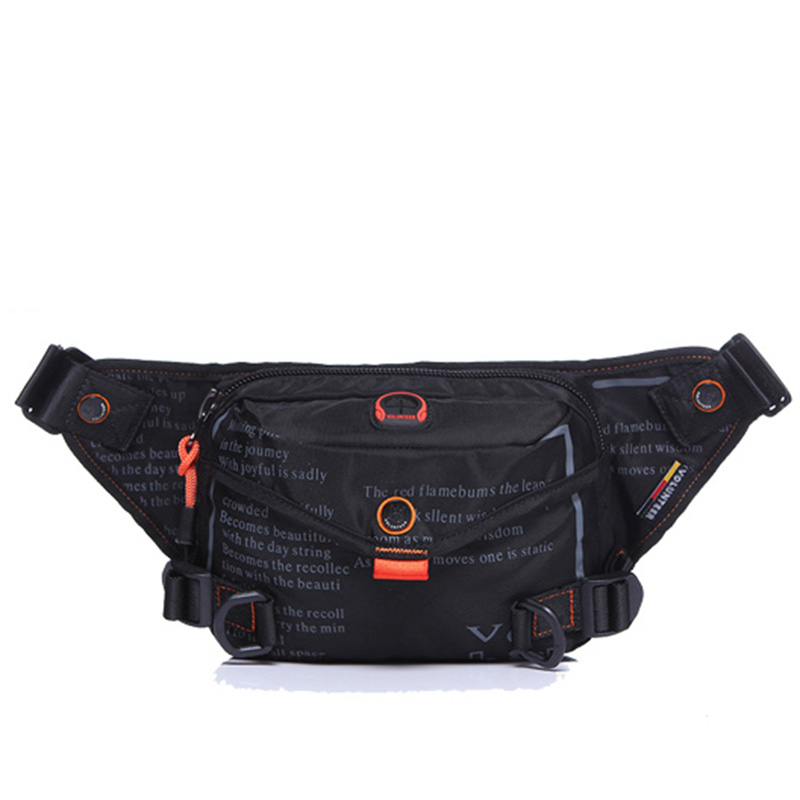 Top Quality Waterproof Oxford Men Fanny Pack Waist Bag Bum Hip Belt Purse Pouch Shoulder Messenger Male Military Chest Bags