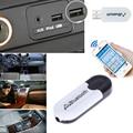 Bluetooth A2DP Adaptador USB Dongle Blutooth Música Receptor de Audio AUX Estéreo de 3.5mm Jack para Coche Inalámbrico Smartphone