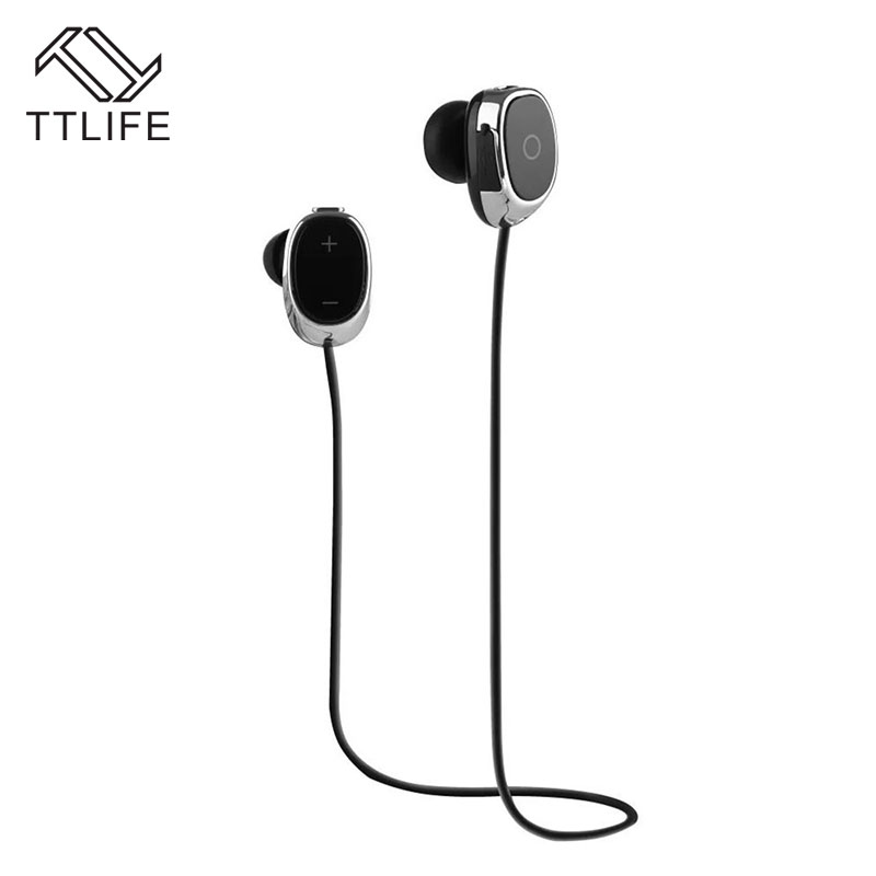 TTLIFE New Arrival Sport Stereo Wireless Earphones Bluetooth 4.1 In-ear Headphone with HD Mic Noise Reduction For iPhone7/xiaomi 2pcs 3 5mm in ear earphones headphone with mic