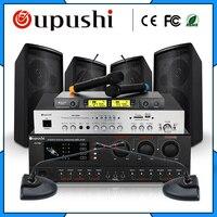 Oupushi конференции караоке динамик аудиосистемы специальный динамик Комплект меню для Конференции столовая сцене стулья