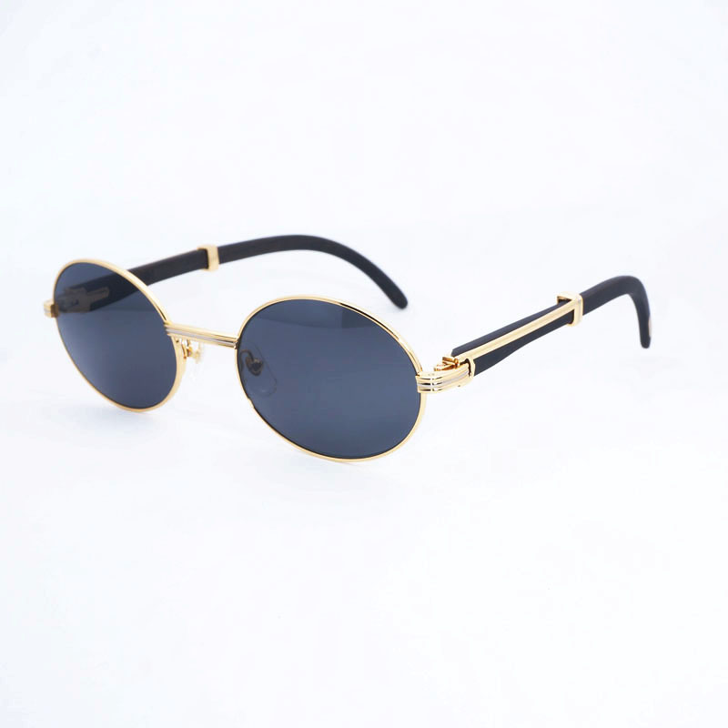 Wooden Round Sunglasses Men Carter Eyewear Accessories Oculos Shade for Summer Clear Glasses for Beaching Driving Reading