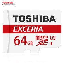 Original TOSHIBA Memory Card 128GB 64GB U3 SDXC Max UP 90MB/s Micro SD Card UHS-I 32GB 16G U1 Class10 With Adapter