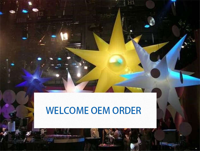 Colorful Advertising Inflatable Stars for Festivals Giant Decoration Balloon for Event & Party Supplies 0013 ao007 inflatable cake balloon event advertising 3 5m pvc fly balloon