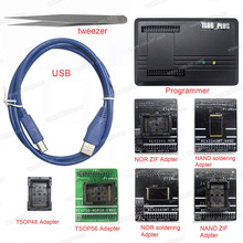 أداة إصلاح مبرمج احترافي من ProMan TL86 PLUS مبرمج + محول TSOP48 + محول TSOP56 نسخة من رقاقة فلاش Nand لاستعادة البيانات