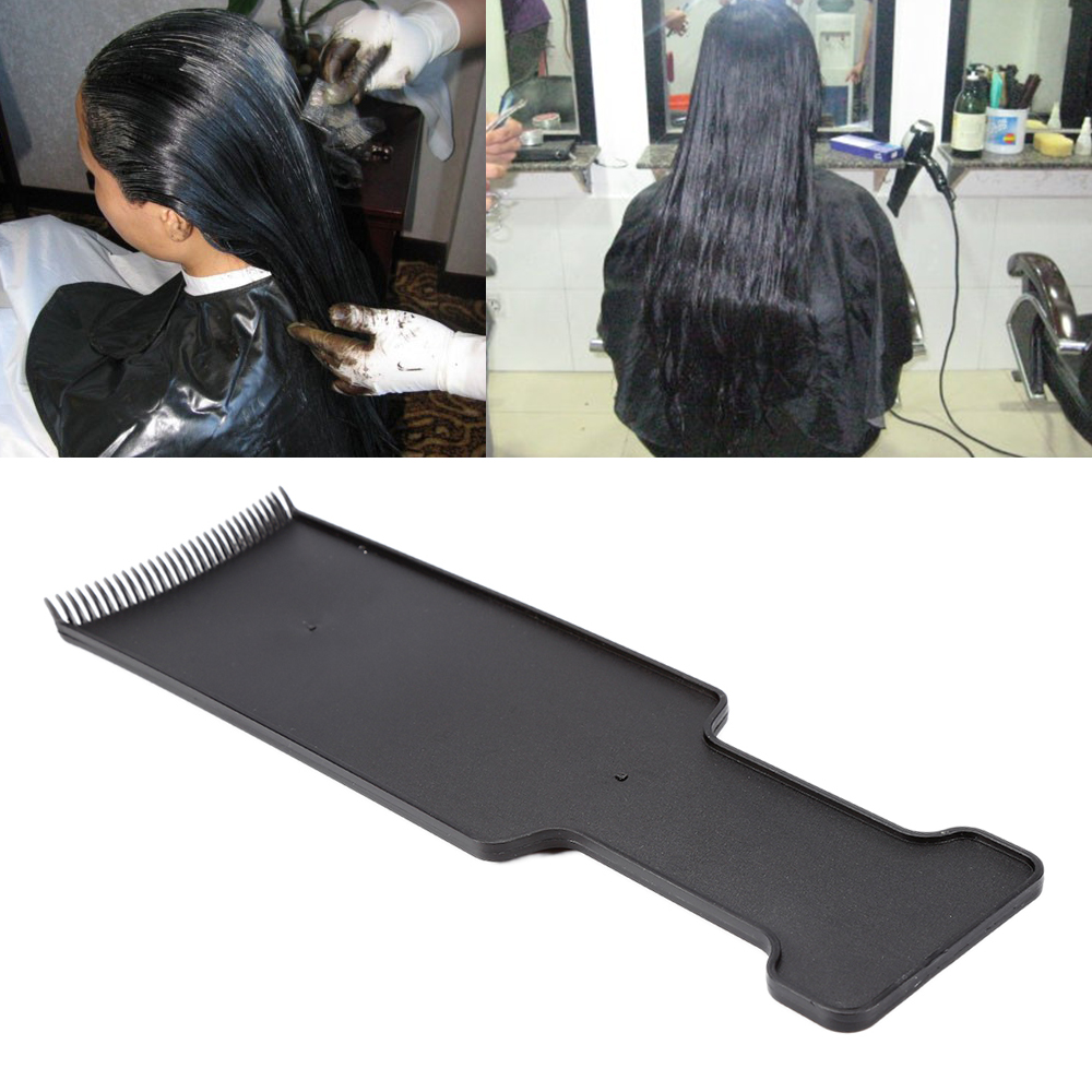 Black Plastic Salon Brushes Bleach Tint Comb Perm Application Dye Coloring Hairdressing Styling Tools Paint Brush Tool