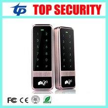 Boa qualidade do metal leitor de cartão de controle de acesso autônomo única porta de controlador de acesso com o toque do teclado 8000 usuários capacidade