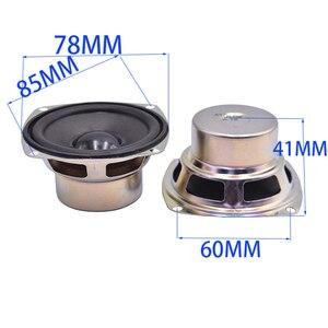 Image 5 - Tenghong 2pcs 3Inch Full Frequency Speakers 4Ohm 5W Audio Speaker Horn For Satellite Speaker Unit DIY Loudspeaker Home Theater