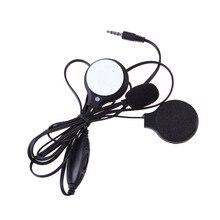 Мото Мотоцикл стерео наушники с микрофоном Спорт стерео гарнитура для MP3 MP4 gps телефон музыкальное устройство