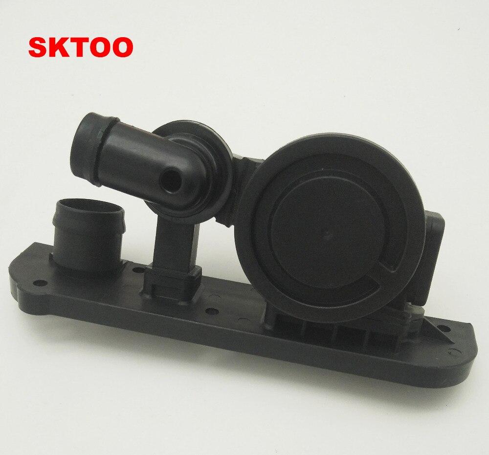 SKTOO 06F129101P Pressure Control Valve Oil Breather Separator for Audi A3 A4 TT VW Passat Jetta