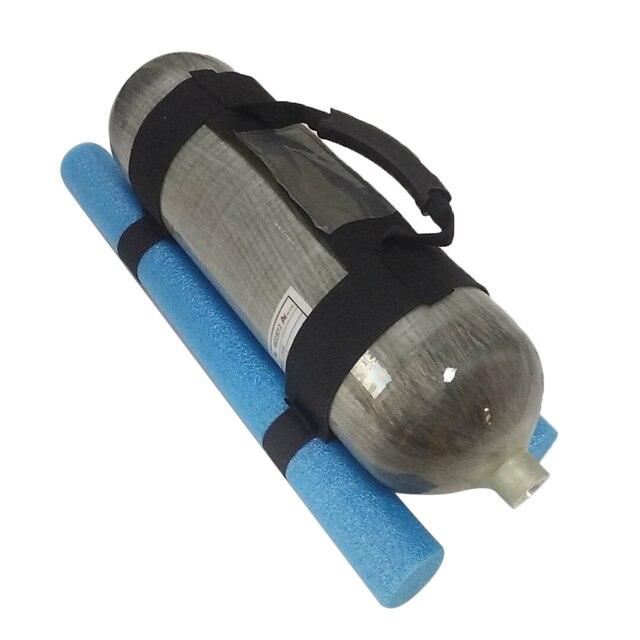 AC8001 Acecare Gewehr Pcp Airforce Tank Handgemachte Strap Griff Bule Paintball Ausrüstung Für 6.8L Zylinder Pcp Carbon 4500Psi
