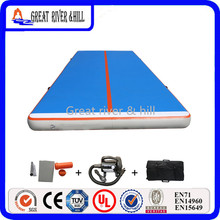 with air blower 10x2m hot sale inflatable gymnastics matgym air track
