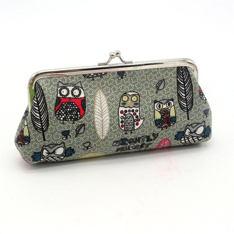 OCARDIAN 2018 Women Lady Retro Vintage Owl Small Wallet Hasp Purse Clutch Bag Dropship 180223