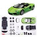 Мода Автомобиля Развивающие Игрушки Металл Сборки Зеленый Цвет Ужин Модель Автомобиля Игрушка Для Детей