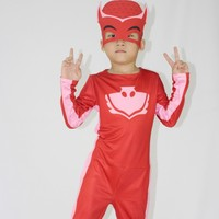 2017 Role Playin High Quality PJ Mask Hero Of Children Cosplay Costume And PJ Masks Cosplay