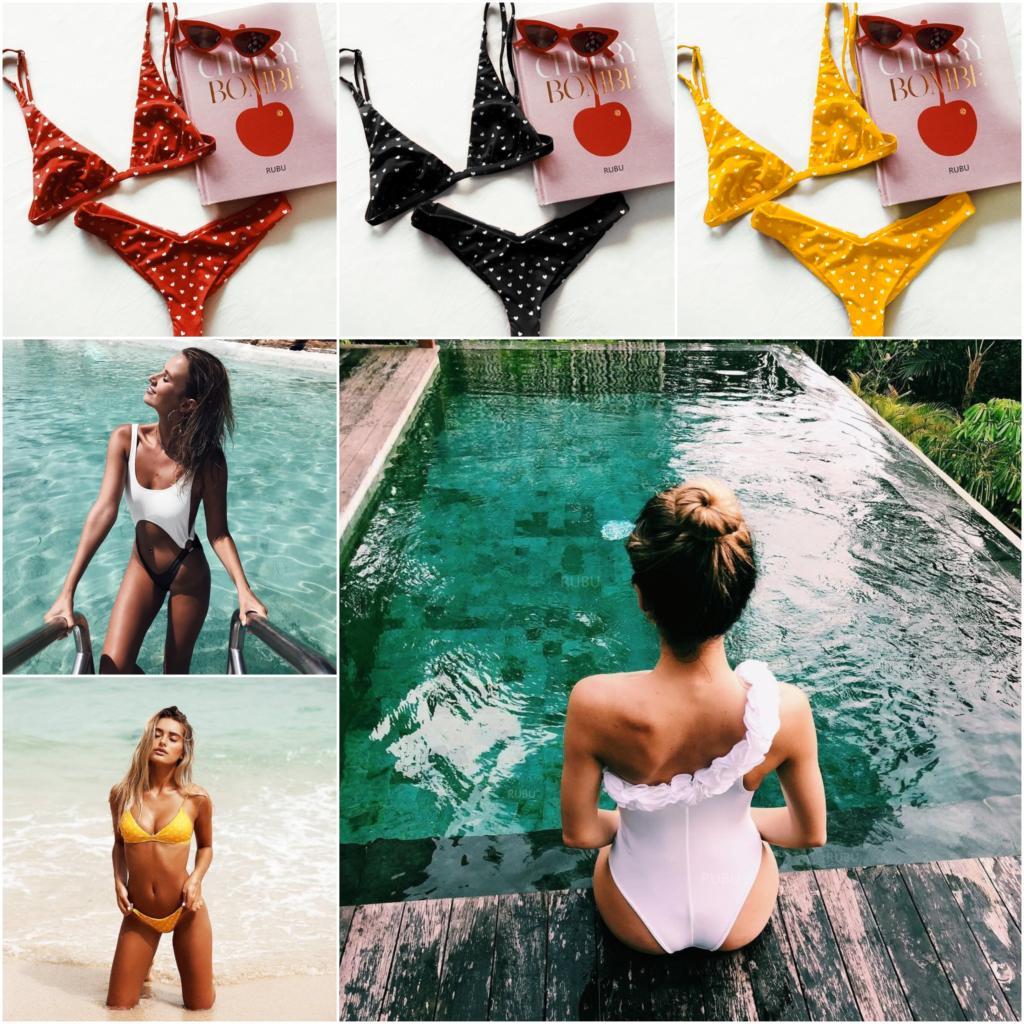 bikini 2018 swimsuits sexy bikinis push up swimwear women. Black Bedroom Furniture Sets. Home Design Ideas