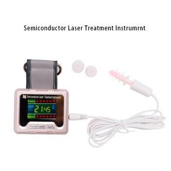 Laserpegel Sinkt | Laser Therapie Handgelenk Diode LLLT 650nm Low Level Frequenz Diabetes Hypertonie Behandlung Uhr Laser Sinusitis Therapie Gerät