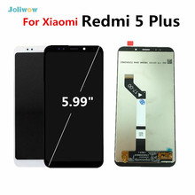 100% New FHD For Xiaomi Redmi 5 Plus LCD Display Touch Screen  Digitizer Assembly Replacement Accessory For Redmi5 Plus недорго, оригинальная цена