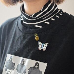 Женская акриловая брошка в виде животных, 10 видов стилей в виде утки, эмалированная брошь в виде курочки, 2019