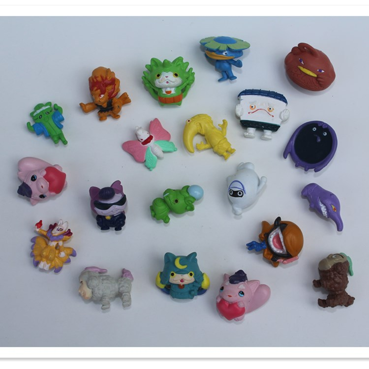 Japanese Capsule Toys : Pcs multicolor yokai watch cm squinkies doll some
