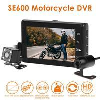 Motorcycle DVR Front+Rear View Dual Cameras HD Waterproof Dash Cam G sensor Recorder Motorcycle DVR Dash Cam